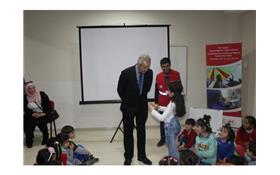 First Syrian Astronaut Muhammad Ahmed Faris Visited Turkish Red Crescent Community Center