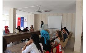 Turkish Red Crescent Health Education Center is Open