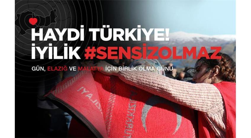 Kızılay'dan Depremzedeler İçin Yardım Kampanyası